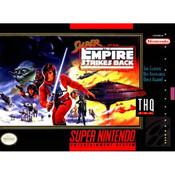 Super Empire Strikes Back Super Nintendo SNES video games for sale , box pic.
