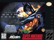 Batman Forever - SNES Game