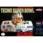 Tecmo Super Bowl - SNES Box Front Cover