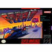 F-Zero Super Nintendo SNES Game for sale, box pic