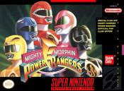 Mighty Morphin Power Rangers - SNES Game