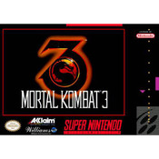 Mortal Kombat 3 - SNES Front Box Cover