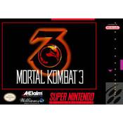 Mortal Kombat 3 - SNES Front Box Cover