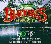 Super Black Bass - SNES Game