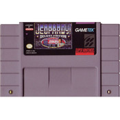 Jeopardy Deluxe Edition - SNES Game