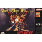 Might and Magic III: Isles of Terra - SNES Game