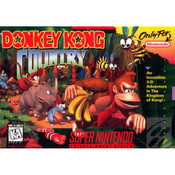 Donkey Kong Country - SNES Box Front