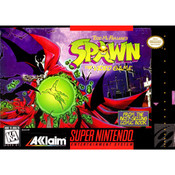 Spawn Video Game For Nintendo SNES