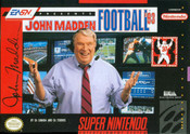 John Madden Football '93 - SNES Game