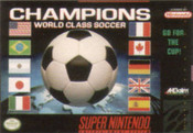 Champions World Class Soccer - SNES Game