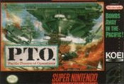 P.T.O. Pacific Theater of Operations - SNES Game