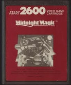Midnight Magic Red Label - Atari 2600 Game