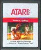 Real Sports Tennis - Atari 2600 Game
