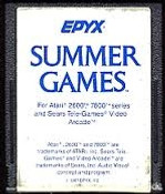 Summer Games - Atari 2600 Game
