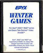 Winter Games - Atari 2600 Game