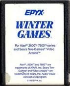 Winter Games - Atari 2600 Game