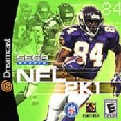 NFL 2K1 Football  - Dreamcast Game