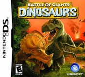 Battle of Giants Dinosaurs - DS Game