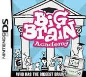 Big Brain Academy - DS Game