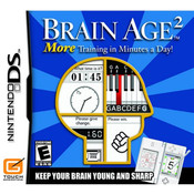 Brain Age 2 Nintendo DS used video game for sale online.