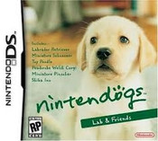 Nintendogs Lab & Friends - DS Game