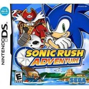 Sonic Rush Adventure - DS Game