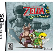The Legend Of Zelda Spirit Tracks DS - DS Game