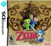 Legend of Zelda Phantom Hourglass - DS Game
