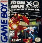 Iron Man X-O Manowar Heavy Metal - Game Boy