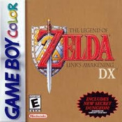 Legend of Zelda Link's Awakening DX - Game Boy