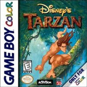 Tarzan Nintendo Game Boy Color
