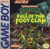Teenage Mutant Ninja Turtles Fall of the Foot Clan - Game Boy