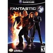 Fantastic 4 - GameCube Game