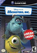 Monsters, Inc Scream Arena - GameCube Game