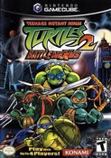 Teenage Mutant Ninja Turtles 2 - GameCube Game