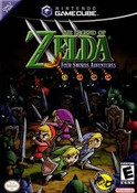 Legend of Zelda Four Swords - GameCube Game