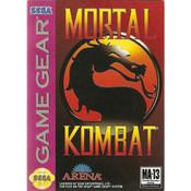 Mortal Kombat - Game Gear Game