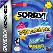 Aggravation/Jr. Scrabble/Sorry - Game Boy Advance