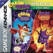 Crash & Spyro Super Pack - Game Boy Advance