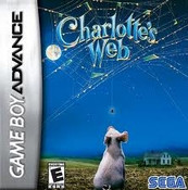 Charlotte's Web - GameBoy Advance Game