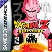 Dragon Ball Z Buu's Fury - GameBoy Advance Game
