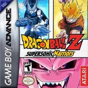 Dragon Ball Z Super Sonic Warriors - Game Boy Advance