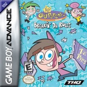 Fairly Odd Parents Breakin Da Rules - Game Boy Advance
