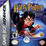 Harry Potter Sorcerers Stone - Game Boy Advance