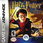 Harry Potter Chamber of Secrets - GameBoy Advance Game