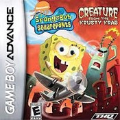 SpongeBob SquarePants Creature From The Krusty Krab - Game Boy Advance