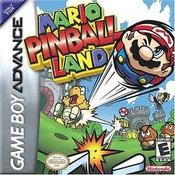 Mario Pinball Land - Game Boy Advance