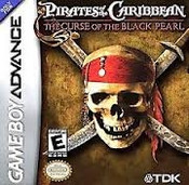 Pirates of the Caribbean Curse Black Pearl - Game Boy Advance