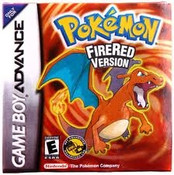 Pokemon Fire Red Version  - Box Art