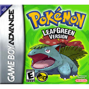 Pokemon Leaf Green Version - Game Boy Advance